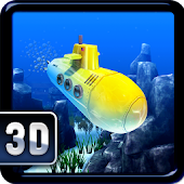 Flappy Submarine Temple 3D