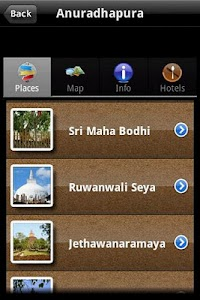 Visit Sri Lanka (Prototype) screenshot 2