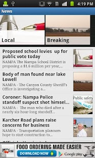 Idaho Press Tribune - screenshot thumbnail