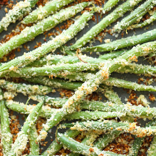 Baked Green Bean Fries.