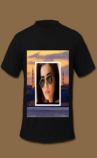 My Photo on Man T-Shirt