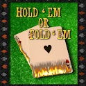 Hold 'Em Or Fold 'Em logo