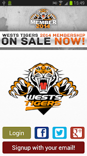 Wests Tigers social by YuuZoo - screenshot thumbnail