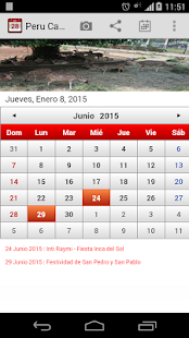 Peru Calendario 2015 - screenshot thumbnail