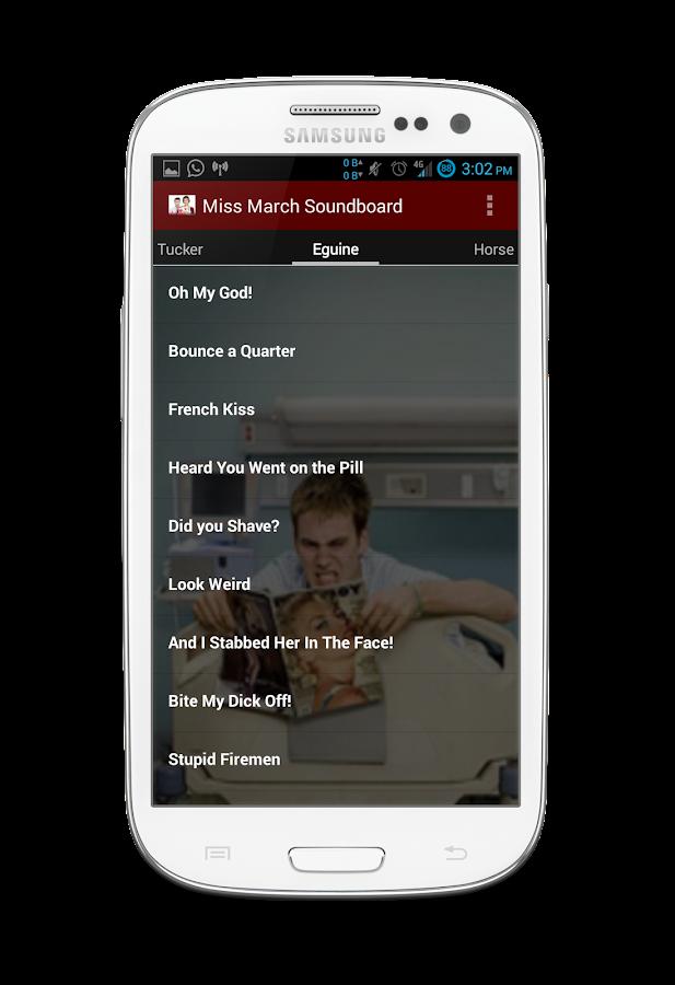 Miss March Soundboard - screenshot