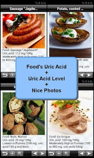 Purine and Uric Acid Food List - screenshot thumbnail
