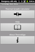 Screenshot of Therm Align