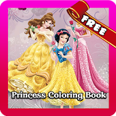 New Princess Coloring Book