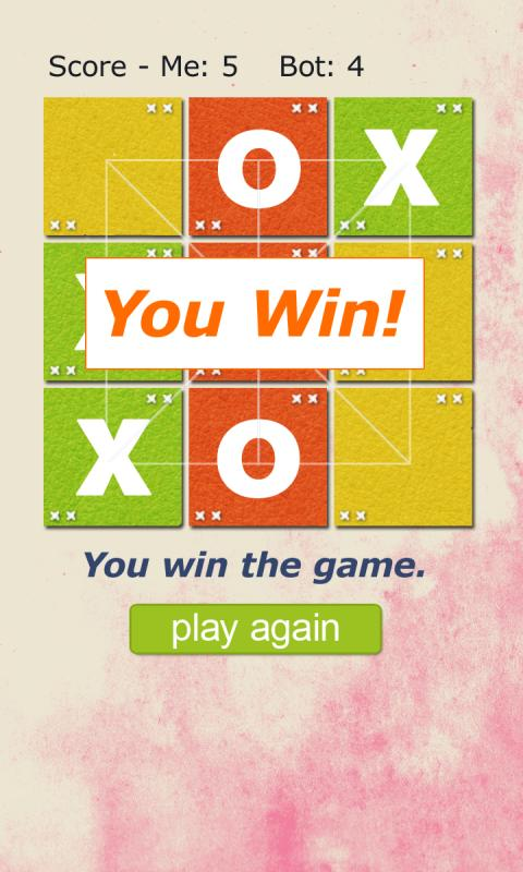 Tic Tac Toe Movable- screenshot