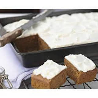 PHILLY Frosted Pumpkin Spice Bars.