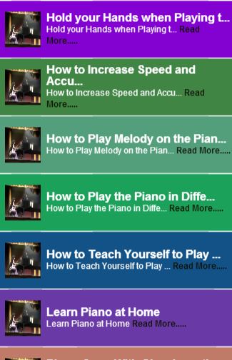 Guide To Playing The Piano