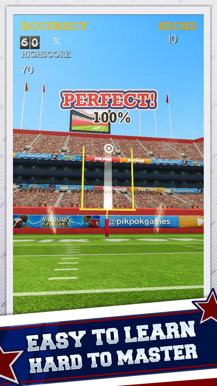 Flick Kick Field Goal Kickoff screenshot #2