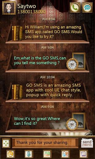 GO SMS Pro PCastle ThemeEX