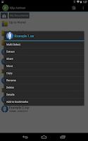 Screenshot of XZip - zip unzip unrar utility
