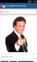 Screenshot of Creador de Memes