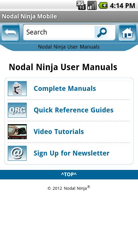 Nodal Ninja Mobile - screenshot