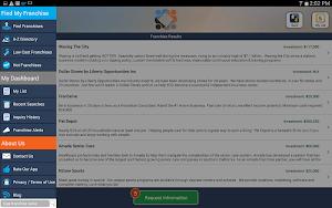 Franchise Opportunities apk screenshot