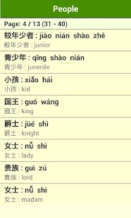 Mandarin Vocabulary (Album 2) - screenshot thumbnail
