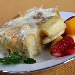Buffet Breakfast Casserole.
