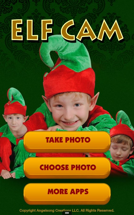 Elf Cam Tablet - Christmas App - screenshot