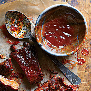 Sweet-and-Spicy Barbecue Sauce.