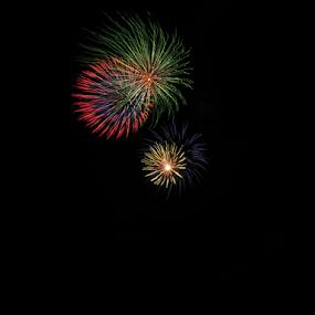 Big Bang by Japie Scholtz - Abstract Fire & Fireworks ( colors, night, light, fire )