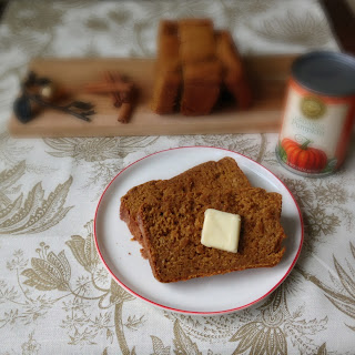 Pumpkin Yogurt Bread