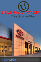Screenshot of Universal Toyota