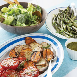 Herbed Salad with Ginger Vinaigrette