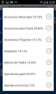 Calculadora Aerocasillas CR screenshot 2