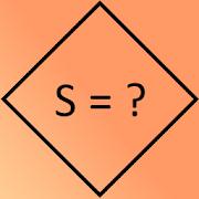 Formula area of the rhombus