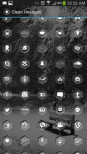 CleanHex Icon Pack