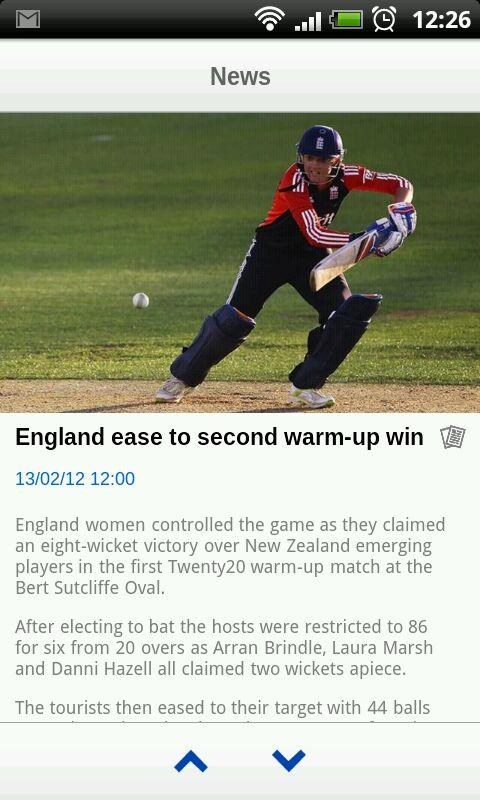 ECB Cricket - screenshot