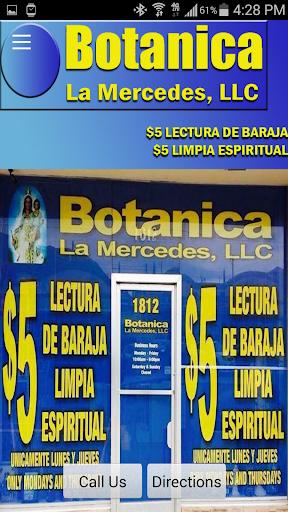 Botanica La Mercedes