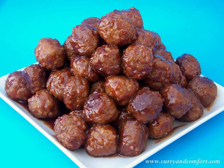 Grape Jelly Cocktail Meatballs Recipe