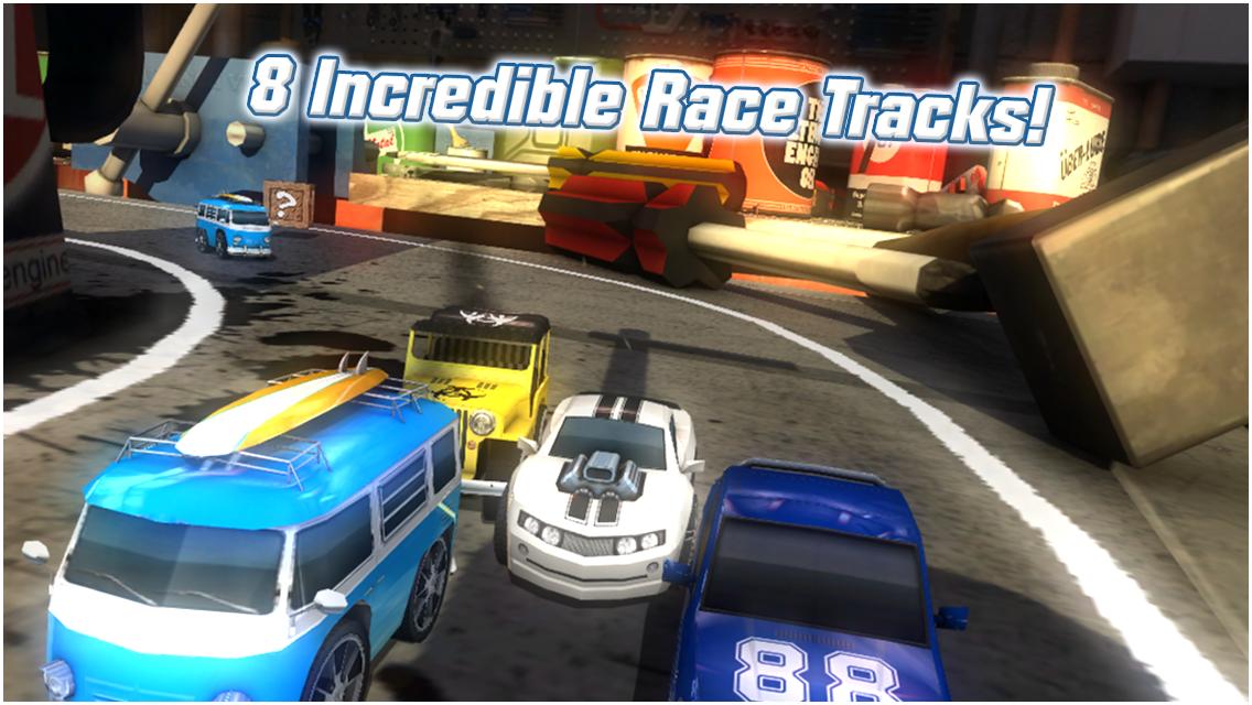 Table Top Racing Free screenshot #15