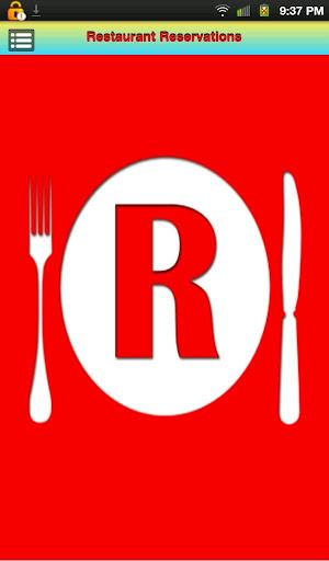 Restaurant Reservations Deluxe