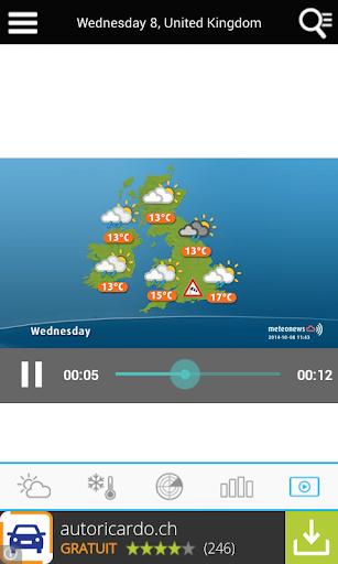 UK Weather forecast  screenshots 4