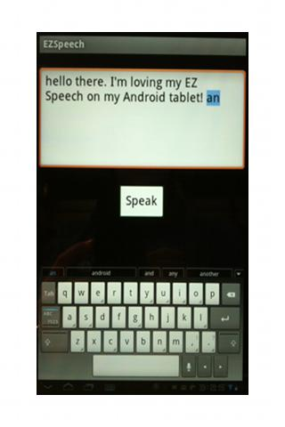 EZ Speech PRO- screenshot