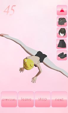 Ballet stretch 3Dのおすすめ画像4
