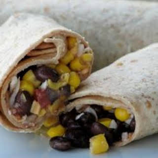 Make Ahead Lunch Wraps.
