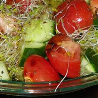 Quick Rocket Salad.