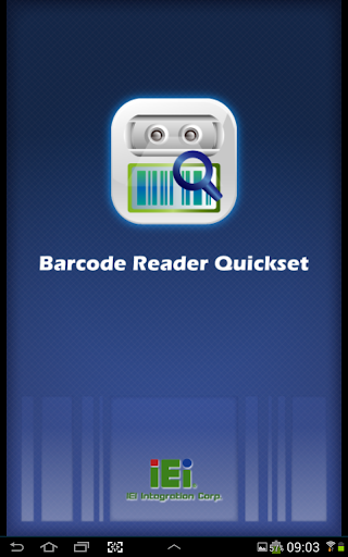 ITDB Barcode Reader QuickSet