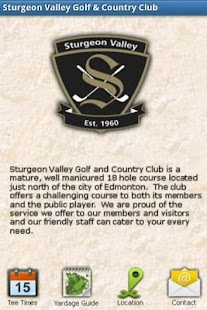 Sturgeon Valley Golf Club- screenshot thumbnail
