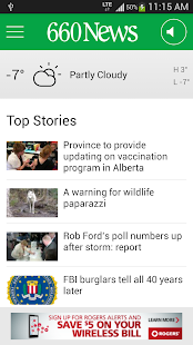 660 News - screenshot thumbnail