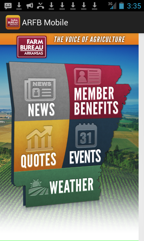 Arkansas Farm Bureau- screenshot