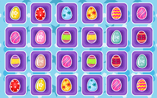 Screenshot of Matching Game-Easter Eggs Kids