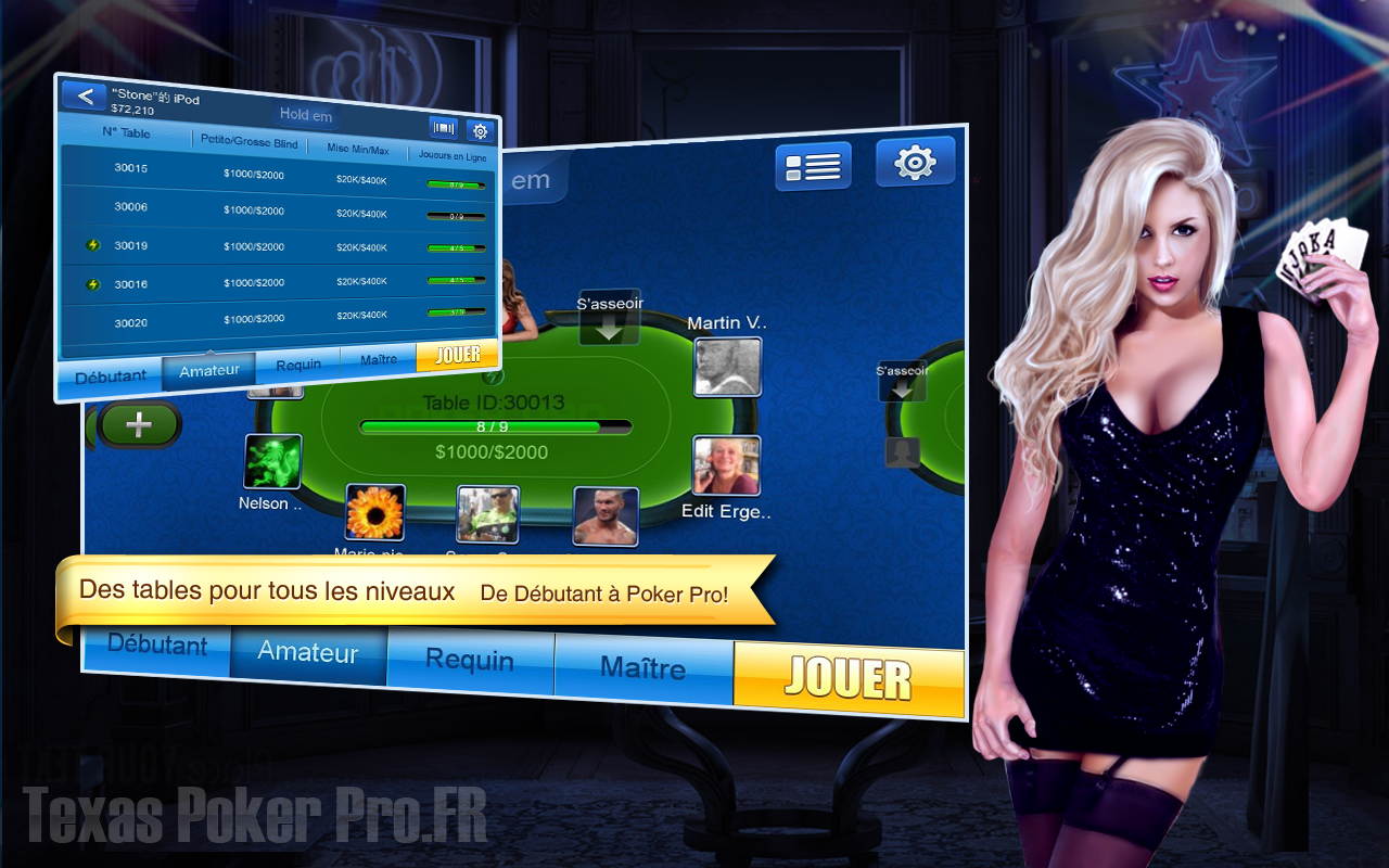 Texas poker pro.id di facebook