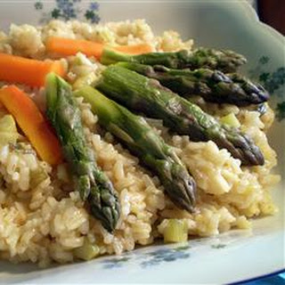 Risotto with Asparagus.