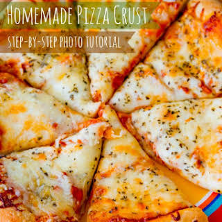 Homemade Pizza Crust.